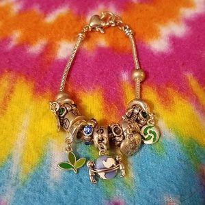 Jewelry - World peace charm bracelet